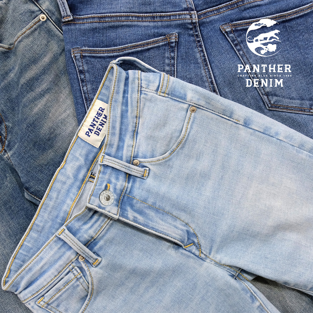 Responding to the leisure trend, Panther Denim has developed fabrics that stretch and move while maintaining an authentic, cool denim look.