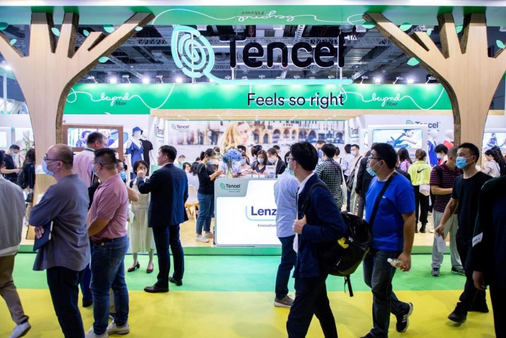 Lenzing brand Tencel attended Intertextile Shanghai Autumn 2020 in September
