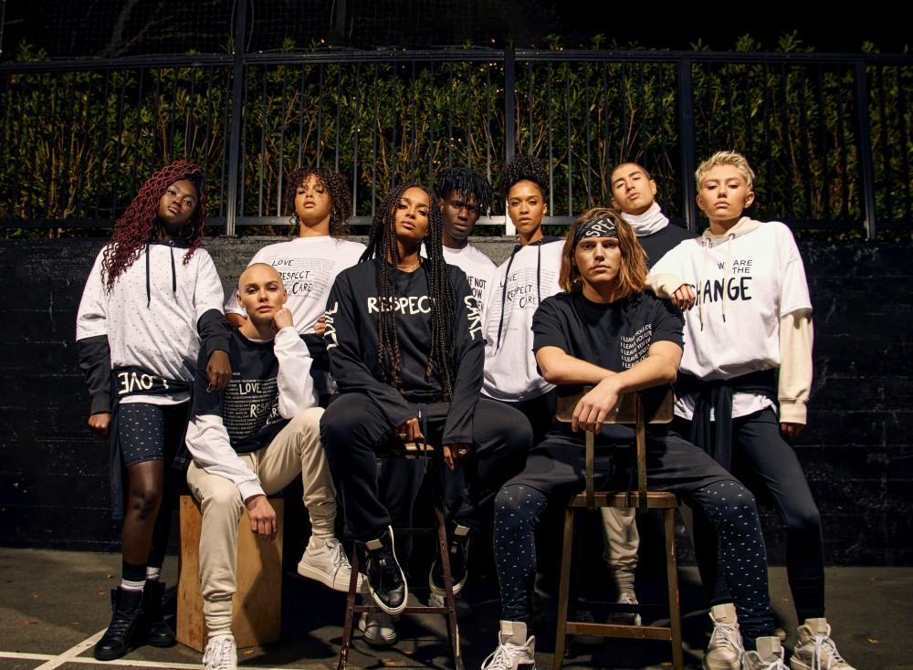 The House of LR&C debuted its streetwear brand Human Nation