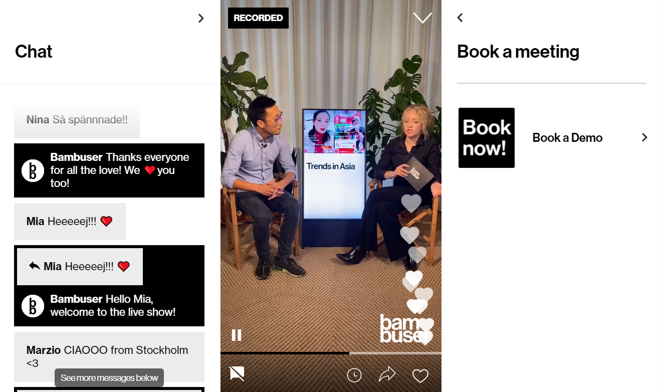 Interactive live video shopping provider Bambuser and watch and accessories brand Daniel Wellington have partnered to jointly launch and expand Live Video Shopping in India, Mexico and Germany.