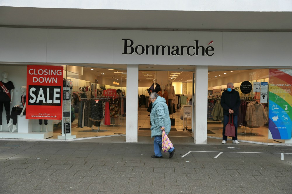 Fashion chain Bonmarché has gone bankrupt again in the U.K., the second time in about a year and a blow to the British retail sector.