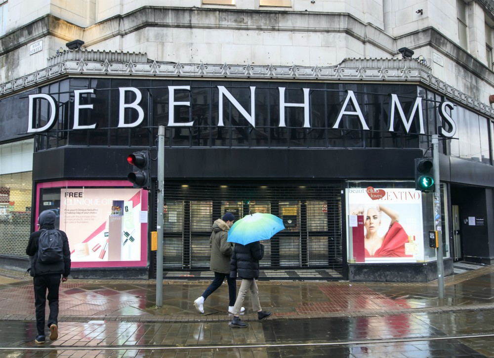 Upon failing to attract a buyer that could save its business, Debenhams will wind down its U.K. operations, including all 124 stores.