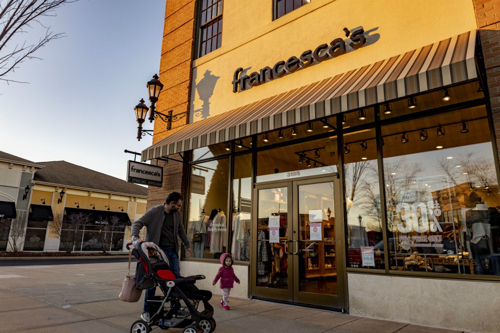 Women's fashion chain Francesca's files Chapter 11 petition in Delaware to facilitate a sale of the company.