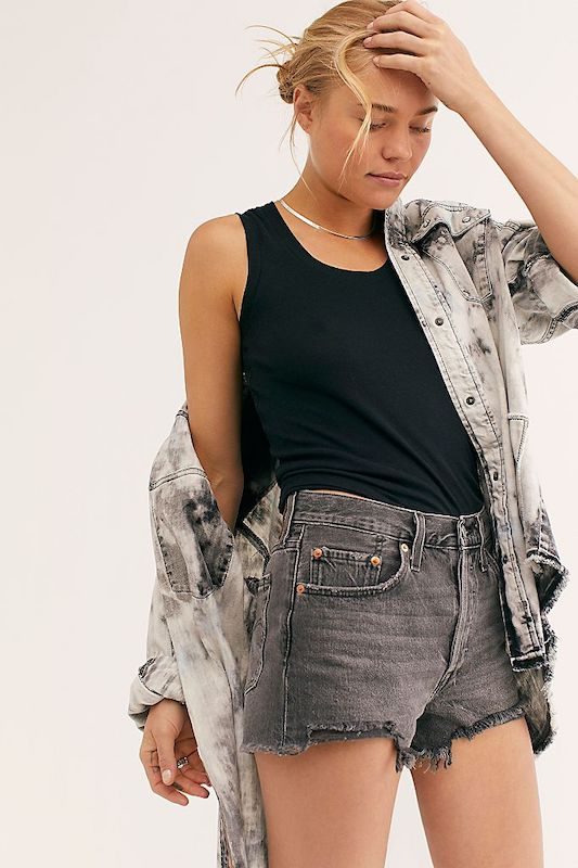 Rivet selected an array of gray denim jeans, skirts, jackets and more to match the Pantone Color of the Year selection for 2021.