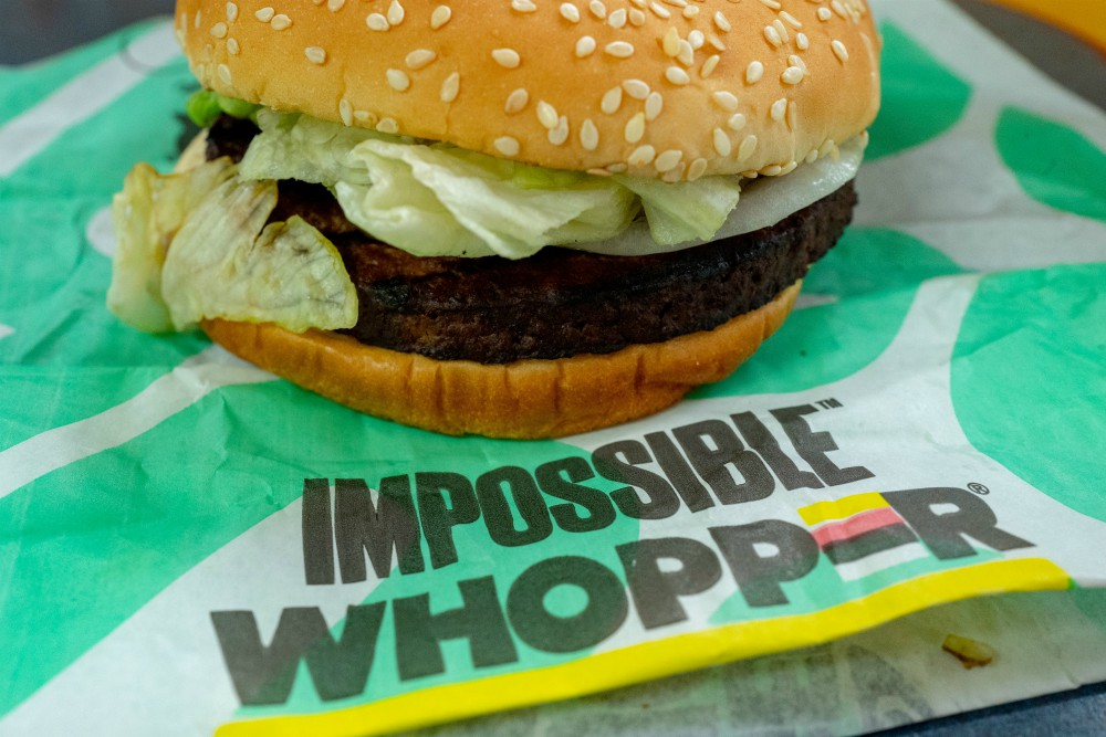 "Fake, animal-free ""meat"" like that found in the Impossible Whopper has found favor with millions of consumers. Biofabricated fashion is shooting for similar success."