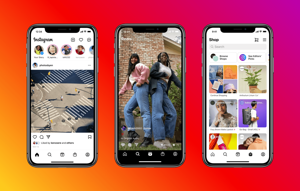 Instagram has debuted shopping capabilities within its newly launched Reels video feature as part of the social media platform's redesign.