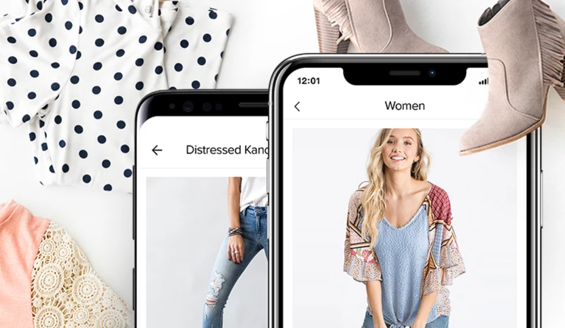 Within the Jane mobile app, consumers can shop women's clothing, footwear, accessories, home decor and more.