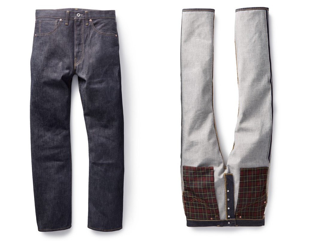 The latest Levi's Vintage Clothing collection pays homage to the inconsistencies of clothing production in the 1940s.