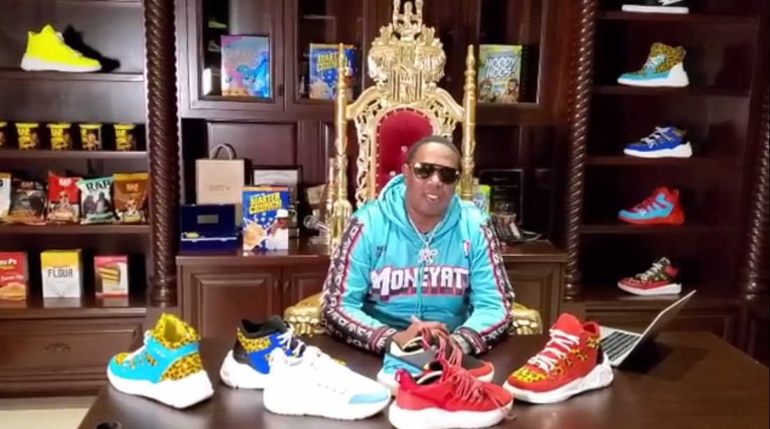 """Percy """"Master P"""" Miller, most known as a rapper and the founder of No Limit Records, and retired NBA point guard Baron Davis are in negotiations to purchase Reebok from parent company Adidas."""