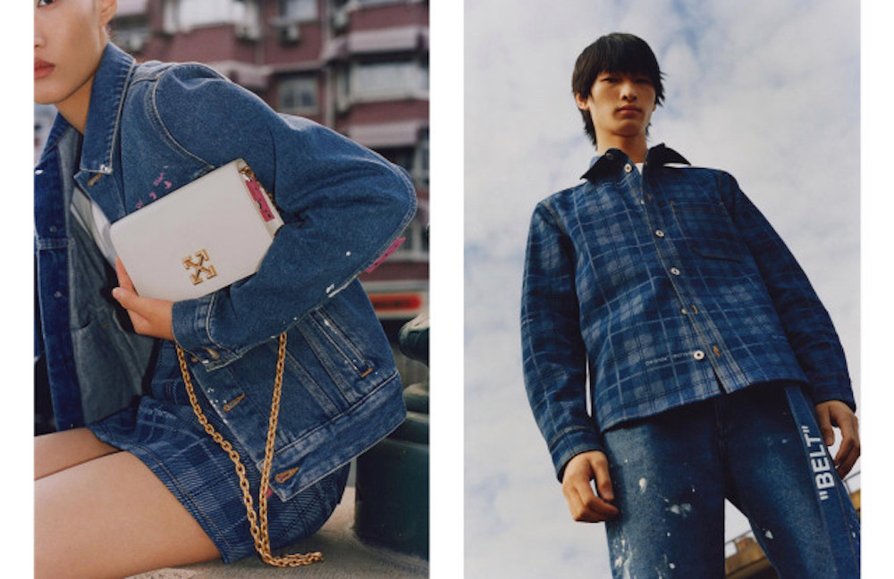 Off-White expands to China with a new co-branded fashion collection available exclusively on popular social messaging platform WeChat.