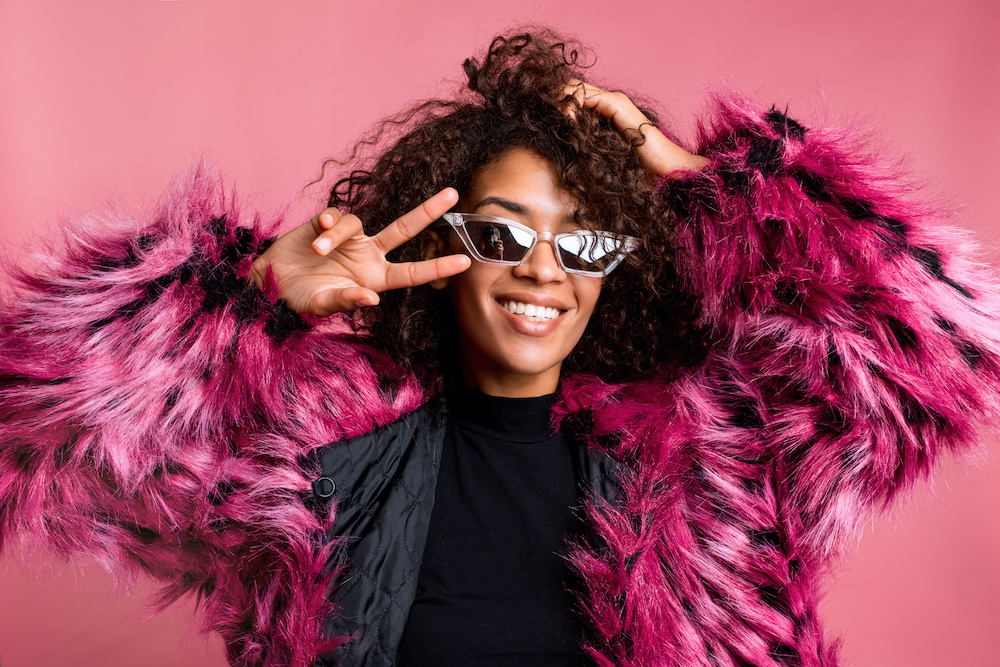 Lyst data shows consumers are seeking cheerful pops of color, light-catching embellishments and outfits for home and future travel.