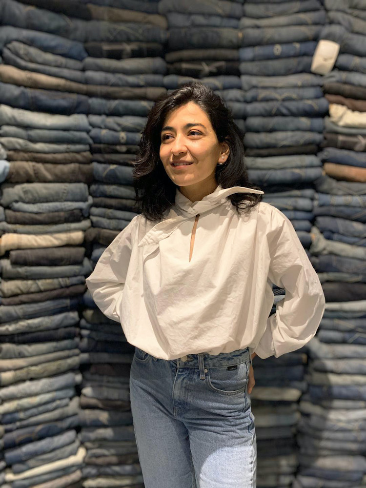 Hilal Öz, a young designer at Mavi, explains how she's focusing on making the denim industry more sustainable, one design at a time.