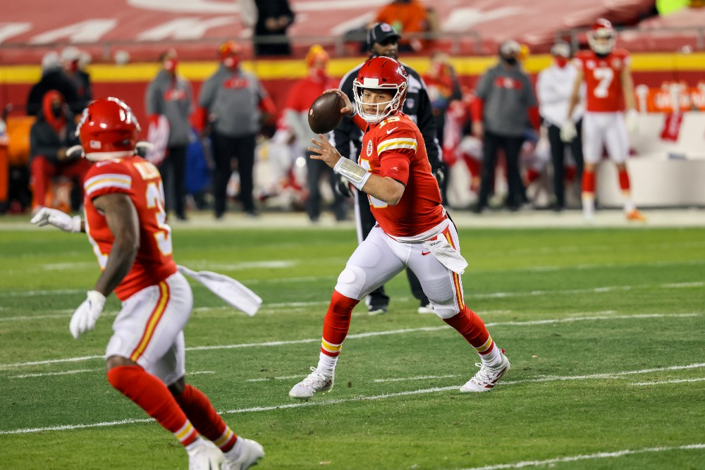 Patrick Mahomes led the Kansas City Chiefs to their second Super Bowl in as many years