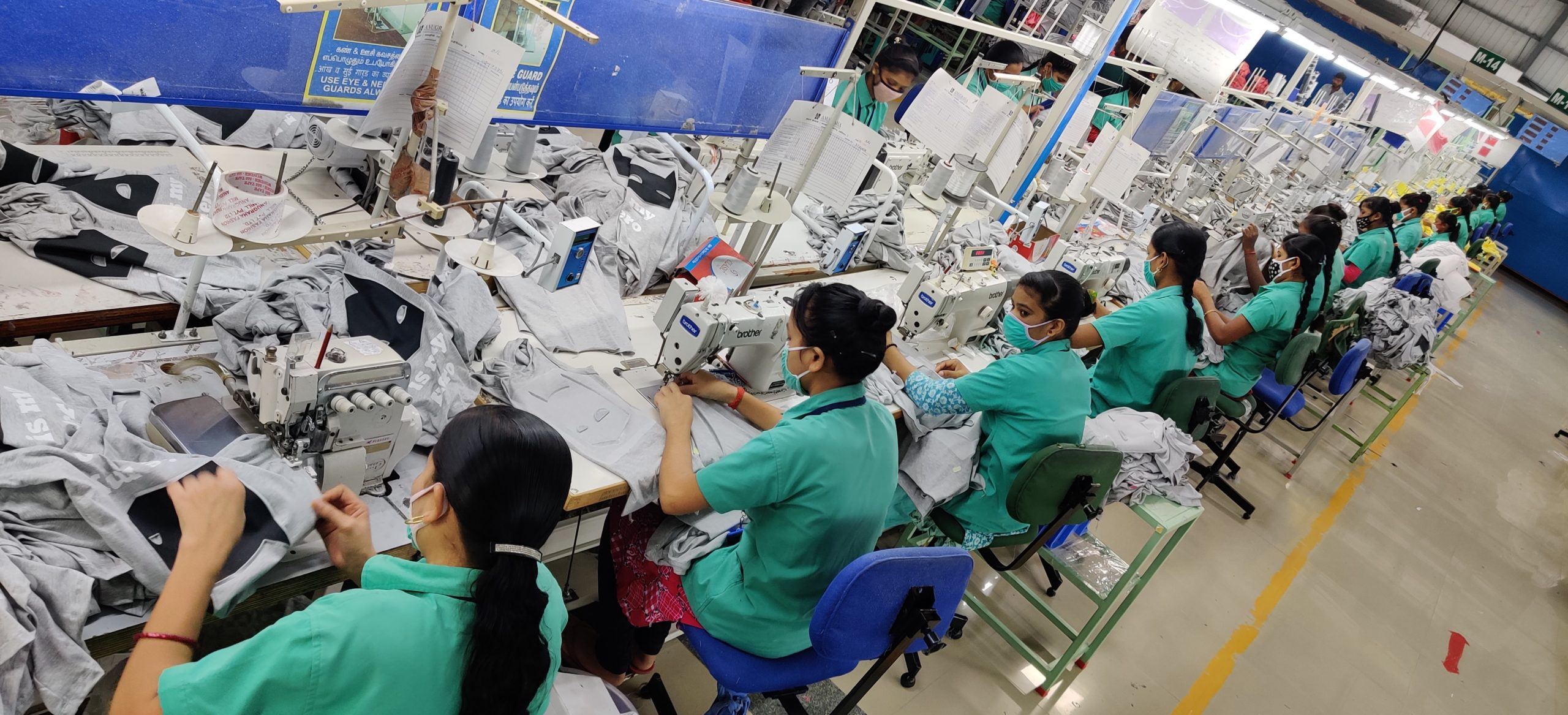 Inside India's Anugraha Fashion Mill Private Limited.