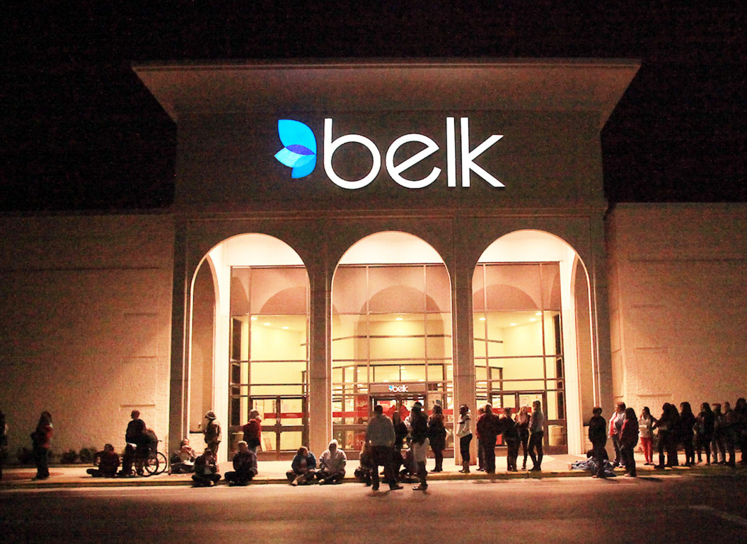 Department store operator Belk will file for Chapter 11 protection as part of a financial recapitalization, with Sycamore retaining control.