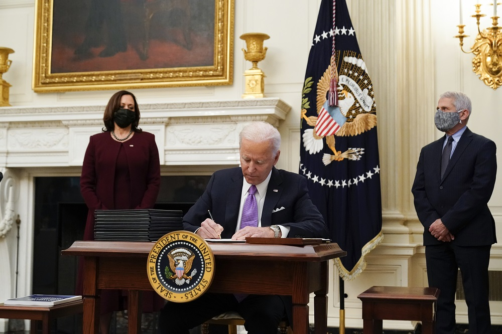NCTO lauded President Biden's order to strengthen U.S. supply chains by using the DPA to address shortages of PPE and vaccine supplies.