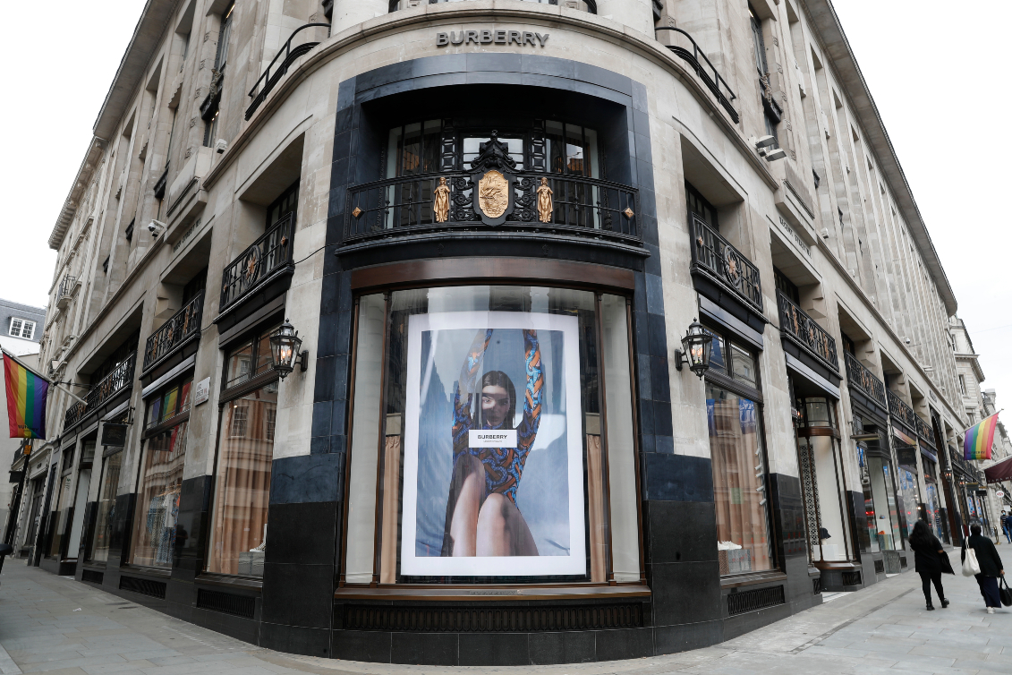 Burberry updates Q3, says progress made on strategic priorities despite decline in revenues from store closures and reduced hours.
