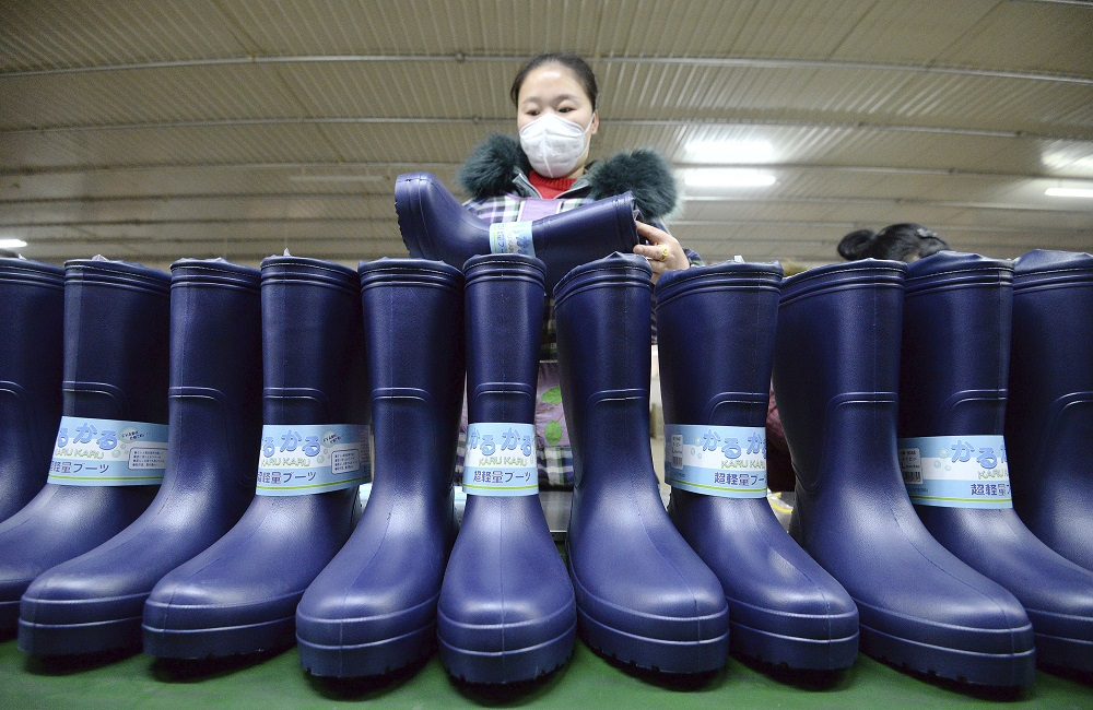 Reeling from the economic effects of Covid-19, U.S. footwear imports fell 23.8 percent to 17.99 billion through November, OTEXA said.