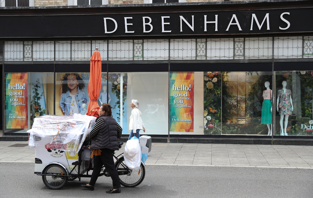 UK retail loses jobs and stores as Bohoo buys Debenhams, with more losses should Asos succeed in quest to buy Topshop parent Arcadia.