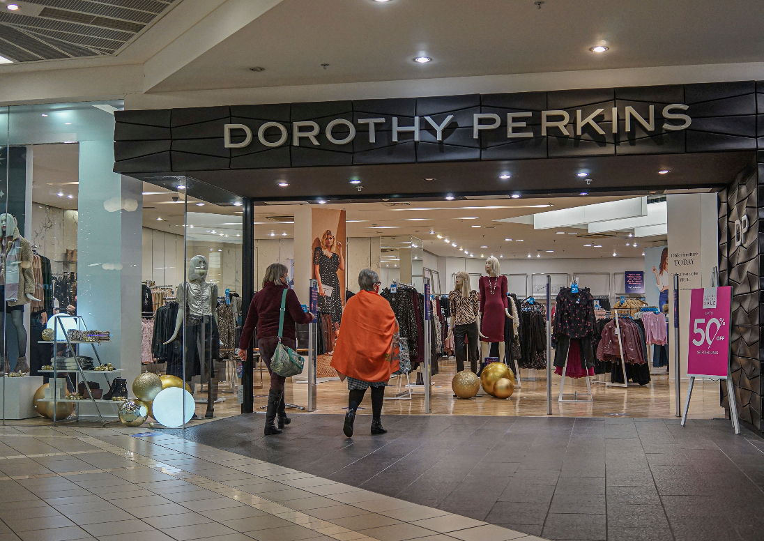 Fast-fashion e-tailer Boohoo confirms talks to acquire three Arcadia Group apparel brands—Dorothy Perkins, Wallis and Burton, but not HIIT.