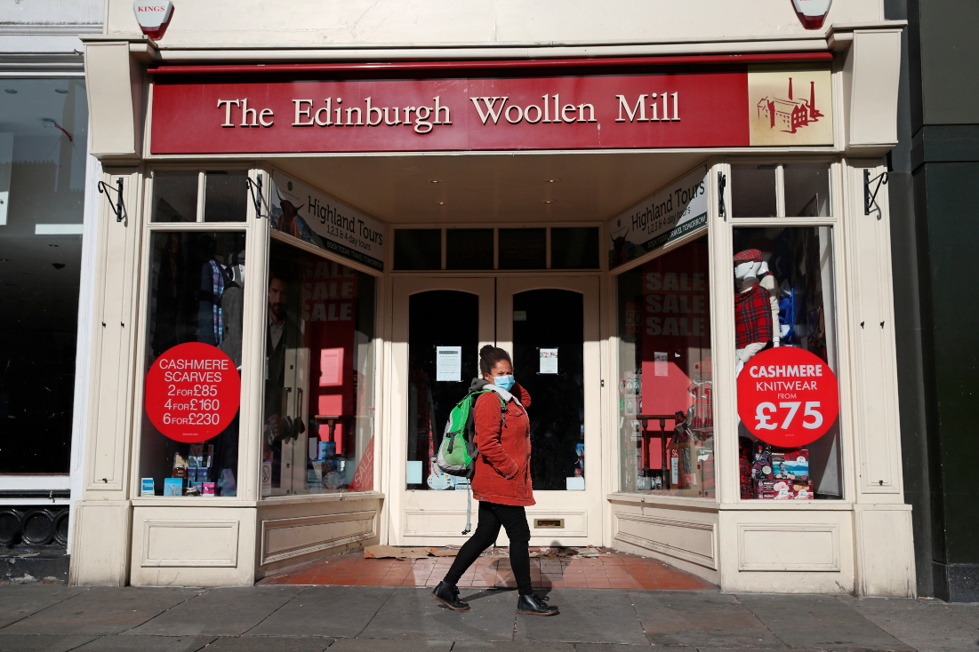 After collapsing into administration Edinburgh Woollen Mill, Ponden Home and Bonmarche nabbed a buyer funded by billionaire Sir Philip Day.