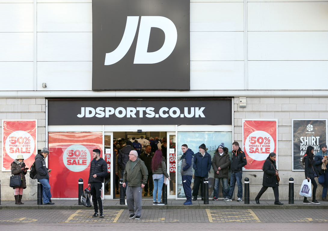 JD Sports Fashion's looking to raise funds for its M&A war chest, replacing the $325 million in cash used to acquire Shoe Palace last month.