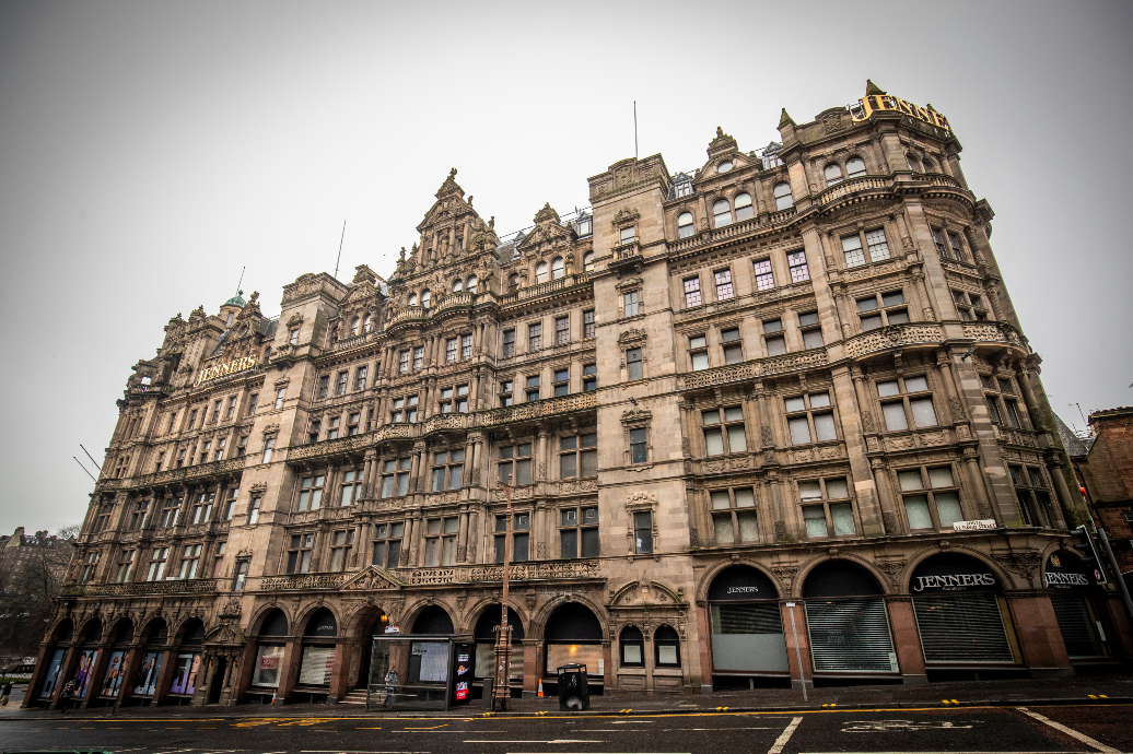 Two hundred more retail jobs are lost as House of Frasers Group shuts down department store Jenners in Edinburgh, Scotland.