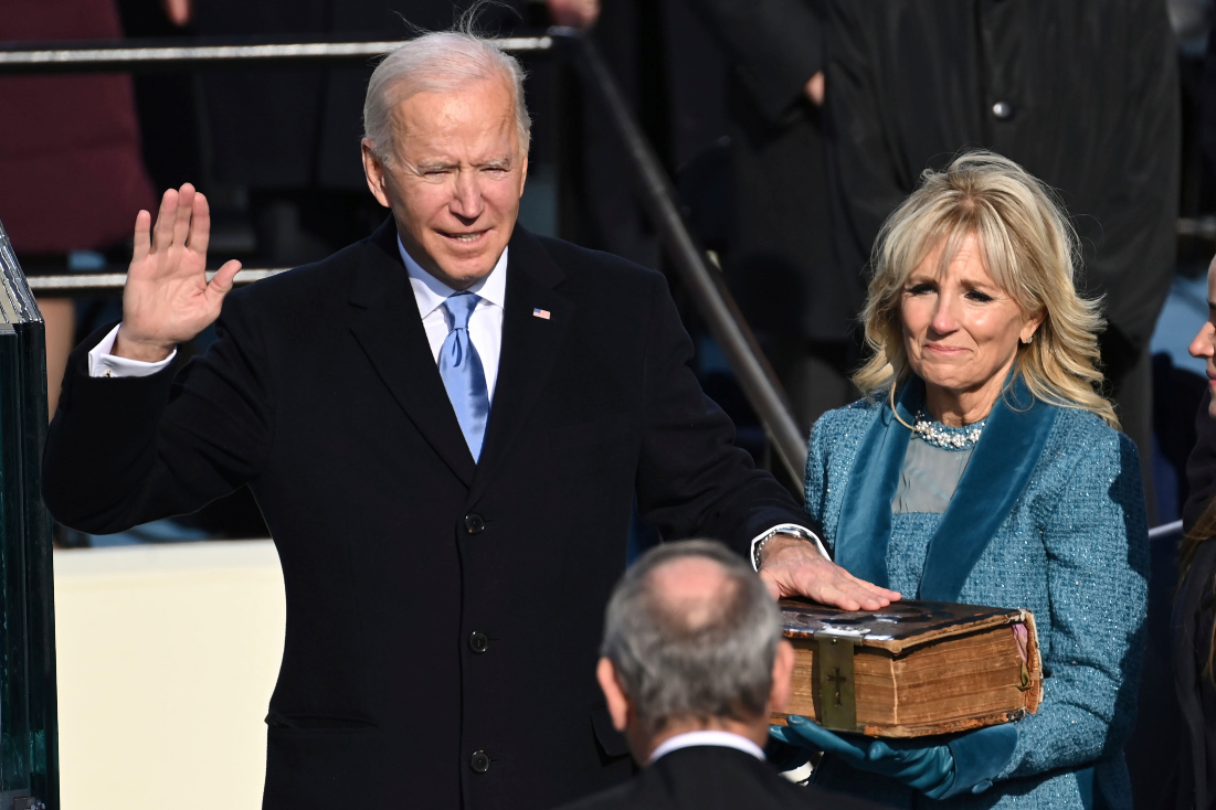 Joe Biden, now the 46th US President, gives the fashion industry and Americans hope for the future in a post-Covid world.