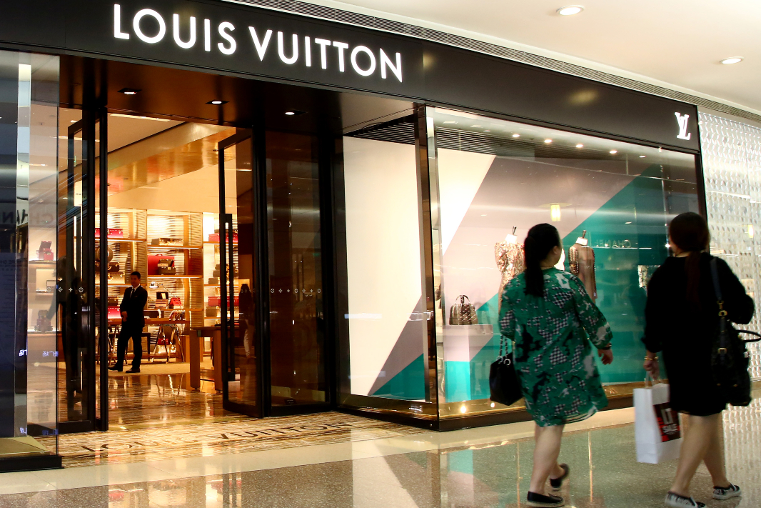 LVMH's fashion and leather goods group sales gained 18% in Q4, despite the pandemic as China's recovery began in April and the U.S. in July.