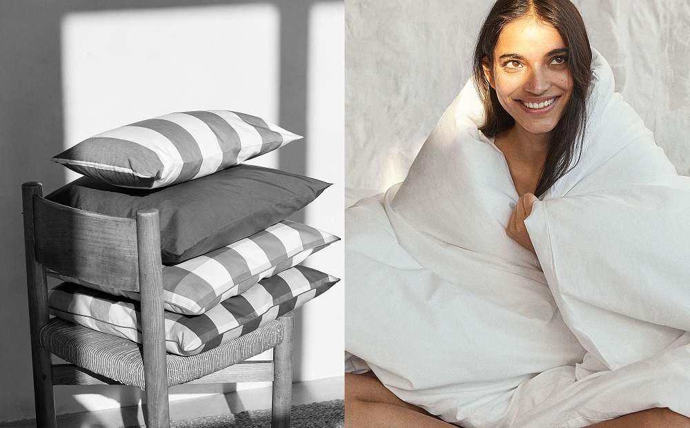 Home textile news: Microaban teams with Manchester Mills, Mango Casa launches with home goods, and Delos produces rugs made with Econyl.
