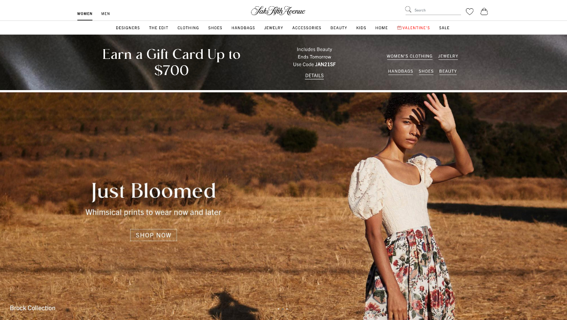 The digital success of luxury retailer Saks Fifth Avenue during the Covid pandemic has its owner considering a possible IPO of the dot-com.