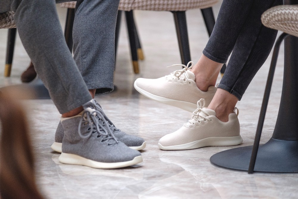 Talent Jogger's Merino wool sneakers, available through Kickstarter, come in low- and high-top designs
