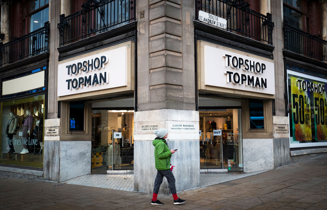 Shein is seen as a reported top bidder for Topshop and Topman, with a bid over $409.7 million, as Next drops out of the auction process.