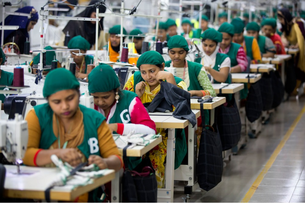 Bangladesh's garment sector has faced harsh headwinds throughout the coronavirus crisis, weathering both economic damages and high rates of infection in its factories.