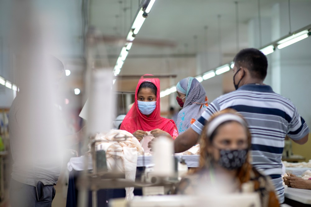 As many as 357,000 of Bangladesh's 4.1 million garment workers may have lost their jobs due to the pandemic.