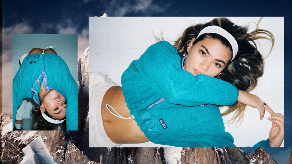 """No """"corporate bro"""" fleeces here: Frankie Collective turns Patagonia apparel into navel-exposing cropped windbreakers and skin-tight jersey bustiers."""