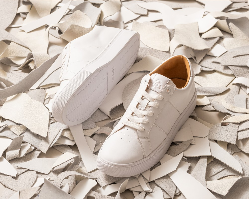 Greats' signature Royale lace-up is the first to feature Eco Leather.