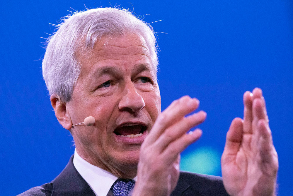 At NRF, JPMorgan Chase banking chief Jamie Dimon addressed America's economic reality, the current political implosion and the nation's next steps.