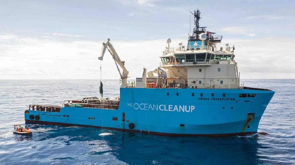 A.P. Moller-Maersk and The Ocean Cleanup have extended and expanded their pollution-fighting relationship with a new three-year partnership.