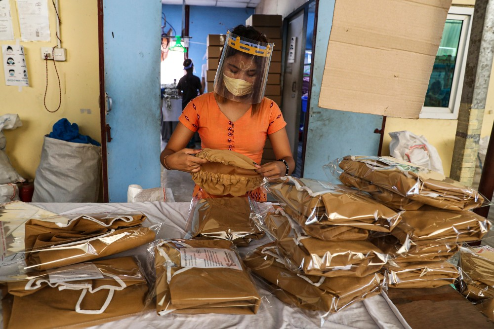 Garment workers at a Myanmar factory that shuttered in December have been awarded lost wages.
