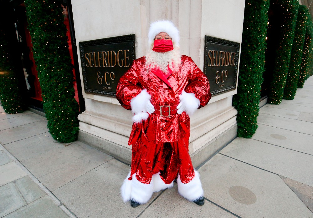 Selfridges set up virtual Santa visits with more than 200 families during the holidays, the group said.