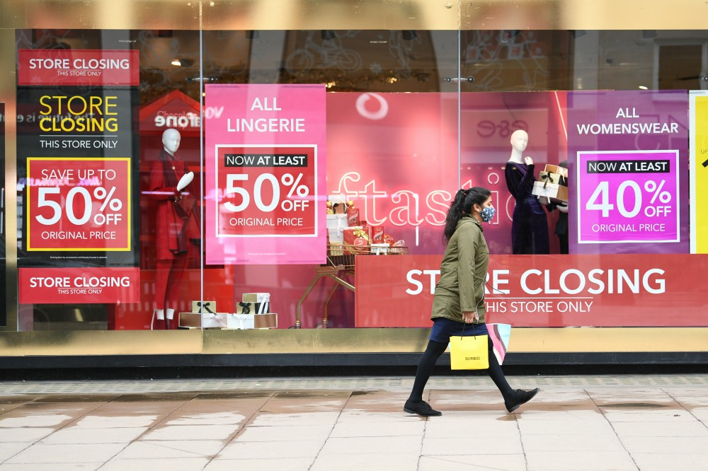 Non-essential British retailers will be shuttered until the middle of February at a minimum, inflicting new wounds on a battered sector.