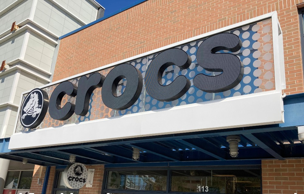 Crocs ended the year with revenue up 12.6 percent, helped along by a massive boost in e-commerce sales