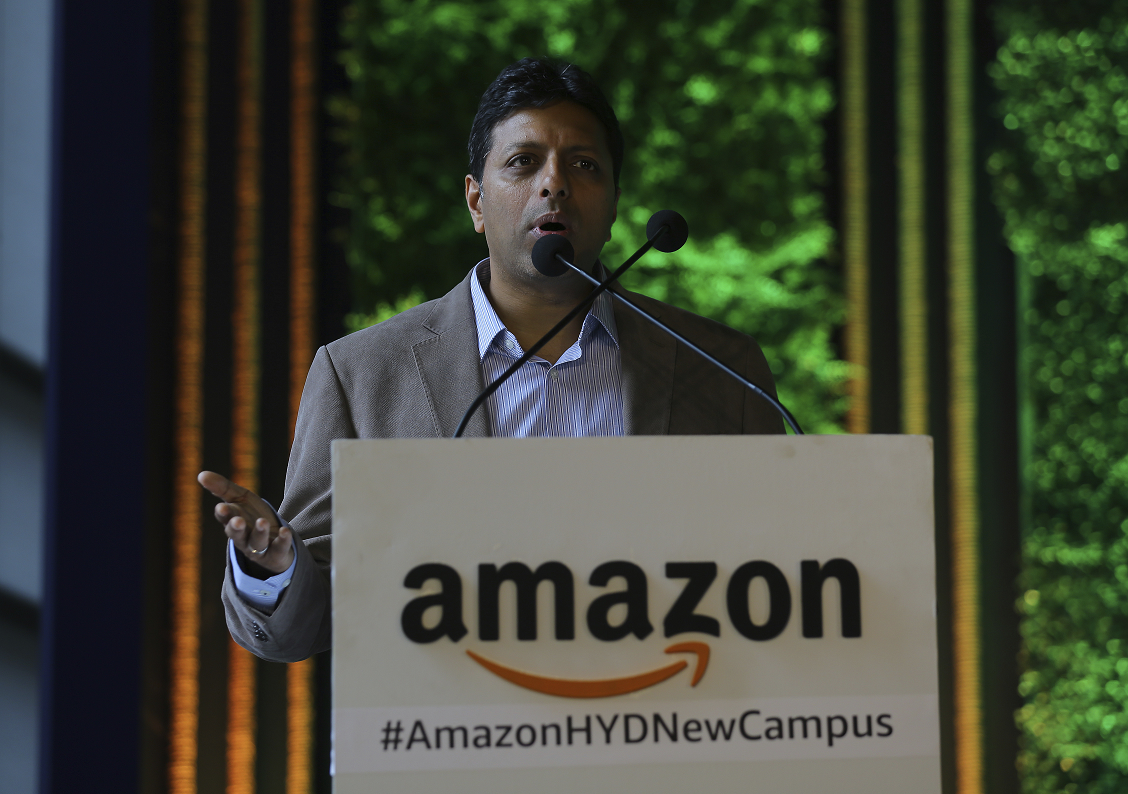 Pictured: Amit Agarwal, senior vice president and head of country at Amazon India.