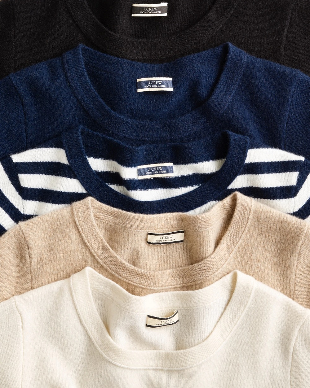 J.Crew said all of its cashmere sweaters and non-apparel pieces will be produced using The Good Cashmere Standard from spring onward.
