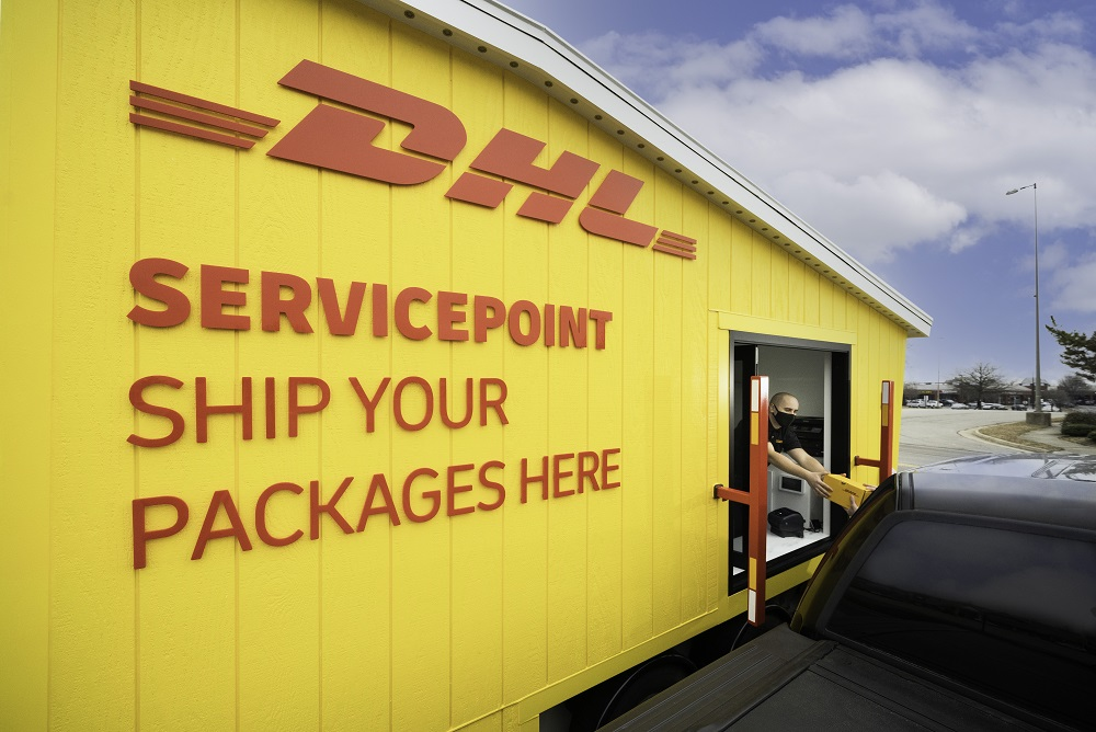 DHL Express expanded its network of U.S. retail locations by opening a drive-up, mobile popup store in Virginia and added to its air fleet.