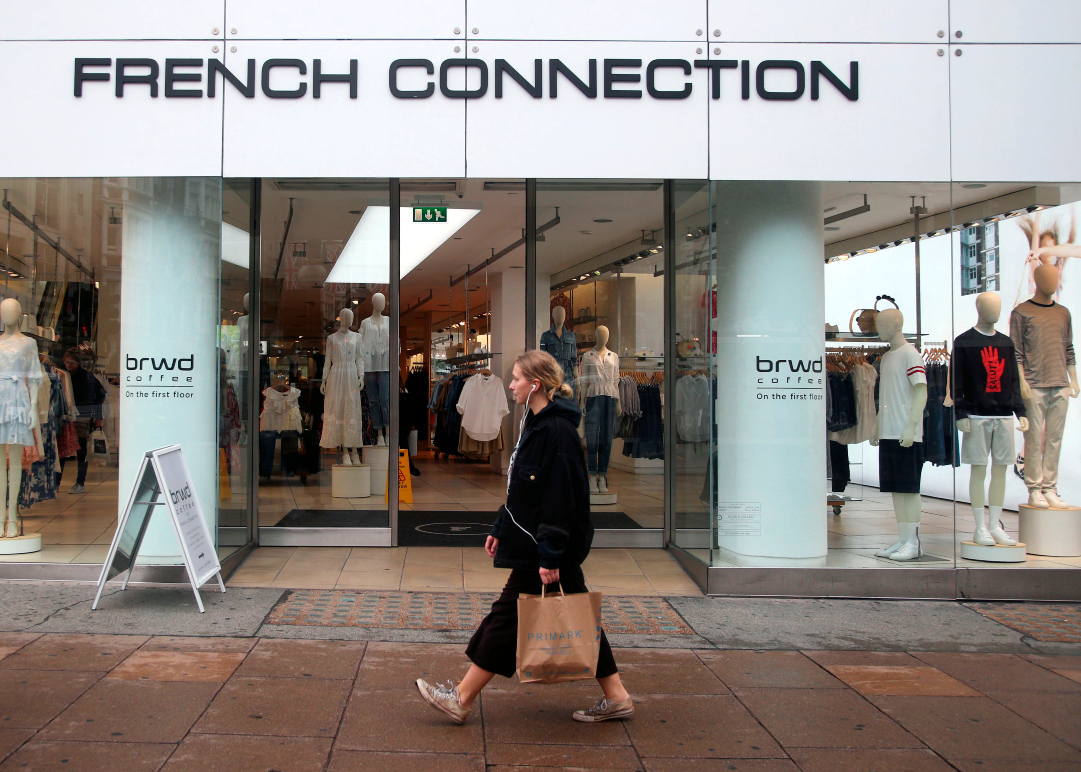French Connection, which has received takeover interest from Spotlight Brands and Go Global Retail, has lost Frasers Group's stake.