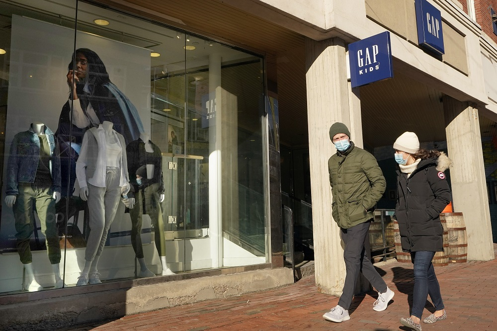 After falling three months, personal consumption expenditures for clothing and footwear increased 8 percent in January to $443.41 billion.