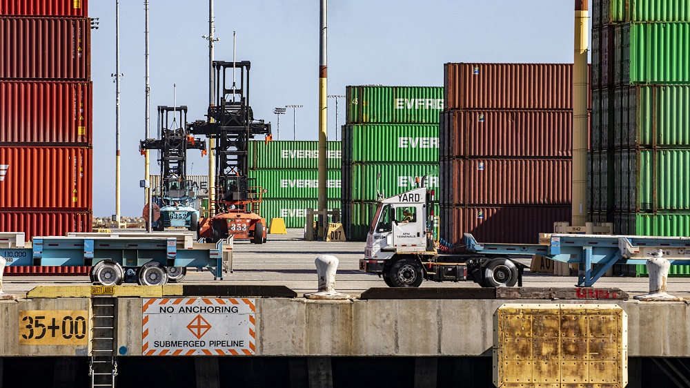 """As part of its ongoing push to digitize and improve cargo efficiency, the Port of Los Angeles has launched a """"Control Tower"""" data tool."""