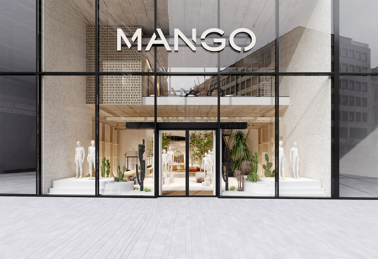 Mango's new 15,000-square-foot sustainability-driven store in Dusseldorf, Germany is set to open in March.